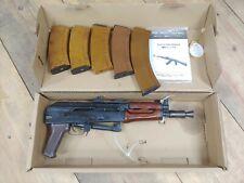 NEW Steel & Wood E&L Spartan Delta Series Airsoft AKS74U Ak74 6mm + EXTRAS