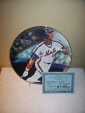 Darryl Strawberry New York Mets Sports Impressions 10&1/4 Inch Plate