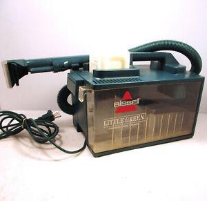 Vintage Bissell Little Green Machine 1653-4 Carpet Cleaner Shampooer Deep Clean