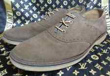 Lacoste Sherbrooke Brogue 2 Oxford Wingtip Beige Suede Size 44.5 (USA 11)