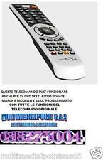 "TELECOMANDO SOSTITUTIVO PER TV RENDER LCD 19"" ELISEO 19B  ELISEO 15B"