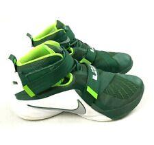 Nike Lebron Soldier IX TB Green Metallic 11.5 749498 Basketball Shoes Sneakers