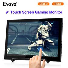 "Eyoyo 9"" Touch Screen USB C HDMI Monitor for Smartphone DSLR Camera Raspberry pi"