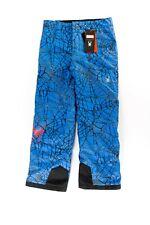 Spyder Boy's Marvel Hero Ski Snowboard Pants Size Kid's 18 Blue 179222