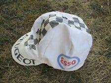 Casquette cycliste PEUGEOT ESSO vintage cap hat oldschool