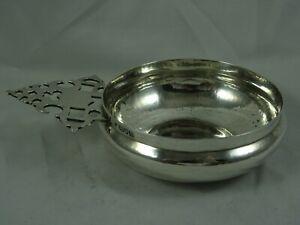 FINE, sterling silver BLEEDING BOWL, 1909, 181gm