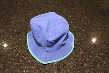 USATO BAMBINO Blu/Verde Cappello Da Sole, Testa circonferenza circa. 58 cm