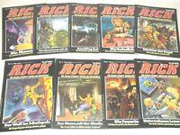 RICK MASTER / HOCHET Nr. 1-9 komplett,  Bastei ab 1983, sehr guter Zust. (1-1-)