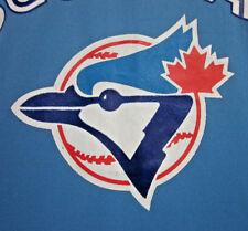 Toronto Blue Jays vtg med ringer baseball jersey 1977 logo Canada V-neck