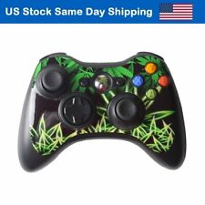 Vinyl Skin Sticker for Xbox 360 Controller Accessory Decal Cover Weeds Black