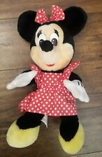 """New listing Disney Store Minnie Mouse Plush Toy Stuffed 18"""" Doll"""
