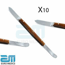 10X Fahen Knives Instruments Carver Laboratory Wax Knife Small Mixing Spatula CE