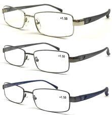 E2613 Classic Square Quality Optical Frame Reading Glasses/Matte PC Arms Design