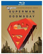 SUPERMAN : DOOMSDAY (DC Animated Movie) -  Blu Ray - Region free