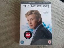 the mentalist the complete second season dvd new freepost
