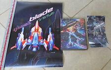 Ghost Blade Original Release + Cool Sticker + Poster Sega Dreamcast The * NEW