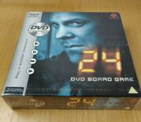 24 DVD Board Game by Parker 2006 PAL TV Games New and Sealed For 2-4 players