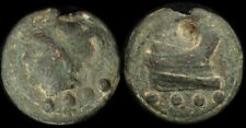ANCIENT ROME : Republic, Anonymous c225-217BC AE Aes Grave (80g) triens mint.