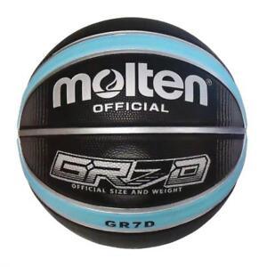 BGRX Series Basketball (Black & Blue) Sizes 5,6 & 7 from Molten