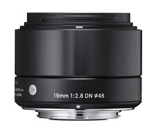Sigma Fixed/Prime Sony E-mount Camera Lenses