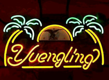 """Yellow Yuengling Lager Eagle Neon Light Sign 24""""x20"""" Beer Bar Cave Artwork Glass"""