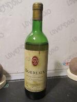 Bouteille de Vin Vieux Bordeaux Seconde de Collection 1973