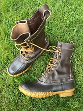 Vintage LL BEAN BEAN BOOTS WOMENS Size 6 M Rain Boots Made In USA