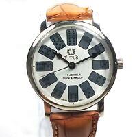 Vintage Titus Mechanical Hand Winding Movement Dial Watch D308