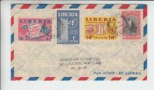 Liberia # 288 338-40 Cover to NY Fauna Monkey.
