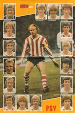 STRIPWEEKBLAD EPPO 1982 nr. 15 - RUUD GEELS & PSV (POSTER)  LEUKEBROEDERS
