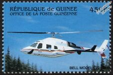 BELL Model 222 Twin-Engine Light Helicopter Aircraft Stamp