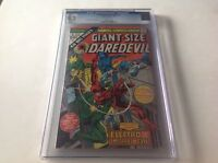 GIANT SIZE DAREDEVIL 1 CGC 9.2 WHITE PGS ELECTRO GLADIATOR STILT MAN MARVEL