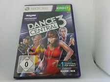XBOX 360 X box KINECT Spiel: Dance Central 3 neuwertig OHNE Kinect über 40 Hits