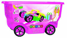 Clics Glitter Rollerbox Building Toy - 400 Pieces
