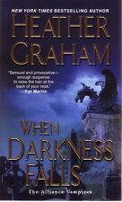 Heather Graham  When Darkness Falls   Paranormal Romance  Pbk NEW