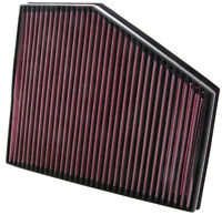 KN AIR FILTER REPLACEMENT FOR BMW 535D 3.0L-L6 DSL; 2007
