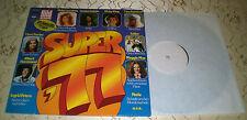 SUPER'77 (LP) COMPILATION-Leandros, Blanco... [RARE PROMO weissmuster] VINILE M -