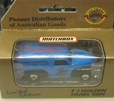 1/64 Matchbox Holden FJ Van Gowings  Blue
