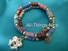 Polymer FIMO Clay FRIENDSHIP Love Charm Bangle Bracelet Fashion Jewellery