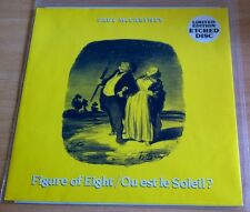 "PAUL McCARTNEY - FIGURE OF EIGHT 12"" ETCHED VINYL"