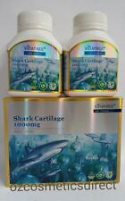 New Vitatree Shark Cartilage 1000mg 2 x 100 Tablets  Made in Australia