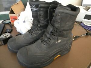 MENS THOROGOOD 299 RAILROAD  Insulated Safety Toe Work/Snow Boots 12M BLK