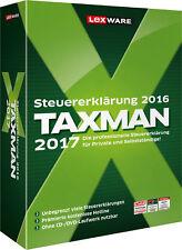 Lexware TAXMAN 2017 (für Steuerjahr 2016) - Box