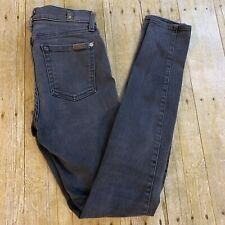 7 Seven For All Mankind The Skinny Jeans Size 25 Gray
