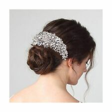 Bling Bridal Wedding Hair Combs with Crystals for Women and Girls