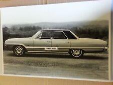 "12 By 18"" Black & White PICTURE of 1966 Dodge Polara 4 door hardtop"