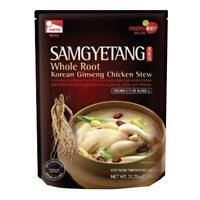 Haitai Samgyetang Whole Root Korean Ginseng Chicken Stew