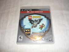 Lego Batman The Video Game & BluRay Movie Combo Set (PS3 NTSC) COMPLETE