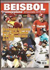 GUIA MERIDIANO BEISBOL VENEZOLANO TEMPORADA 2016 2017 CABRERA ALTUVE FELIX