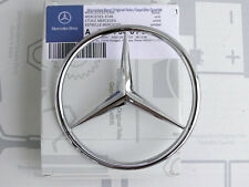 Genuine Mercedes trunk lid emblem / badge R107 280SL 350SL 380SL 500SL NOS! NEW!